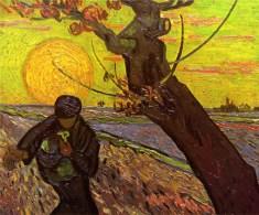 'Sower', 1888, Vincent van Gogh
