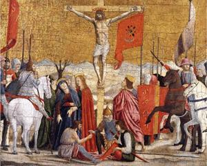 """Crucifixion"" by Piero della Francesca, c.1460"