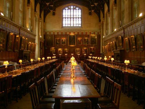 EstiloDF  El verdadero comedor de Hogwarts