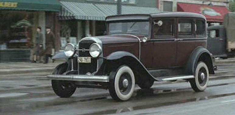 Buick de 1929. Road to Perdition