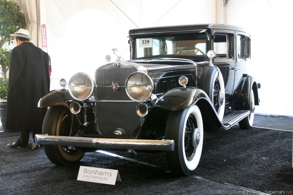Carro cadillac gangster anos 20