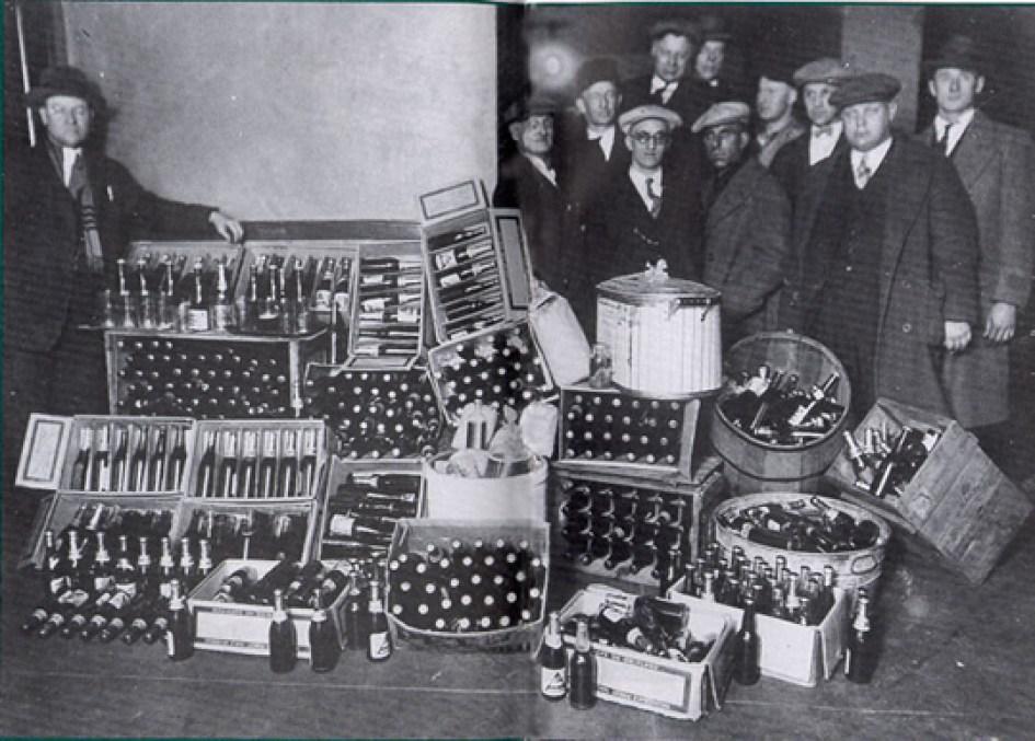 """""""bottlegger"""" na decada de 1920"""