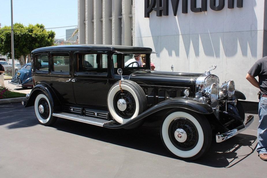 Al Capone 1931 V16 armoured Cadillac.