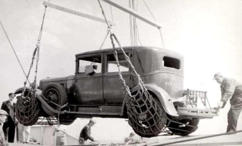 Al capone Cadillac 1928