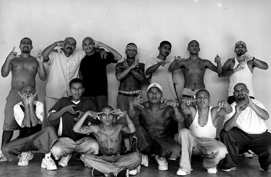 membros de uma gangue