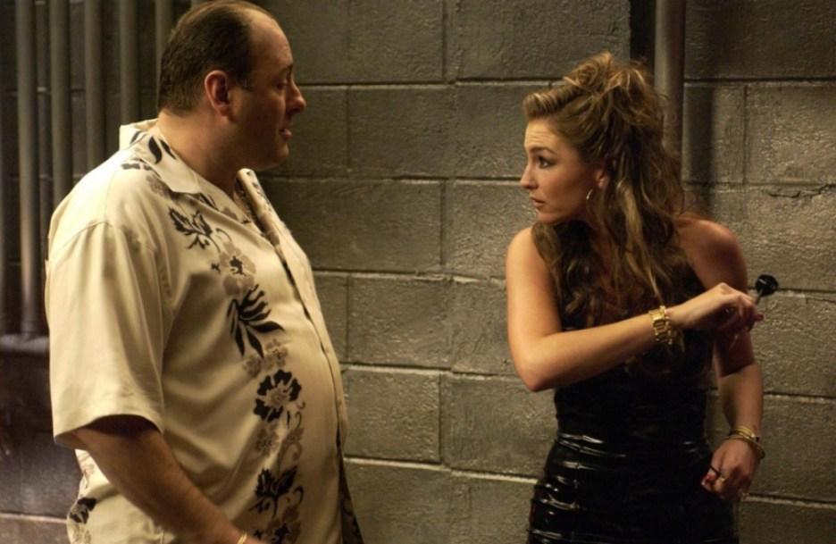 Drea De Matteo como Adriana La Cerva em The Sopranos