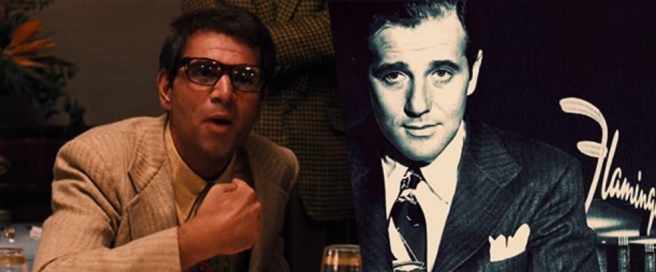 Moe Greene e Bugsy Siegel