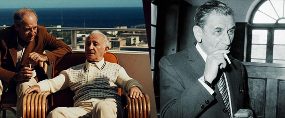 Hyman Roth e Meyer Lansky o poderoso chefao 2