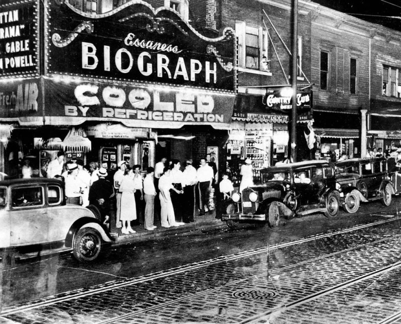Biograph theatre John Dillinger morte
