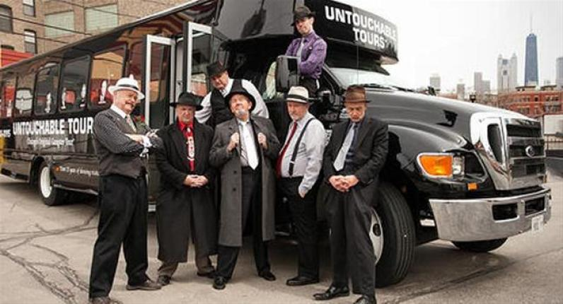 Untouchable gangster Tours chicago