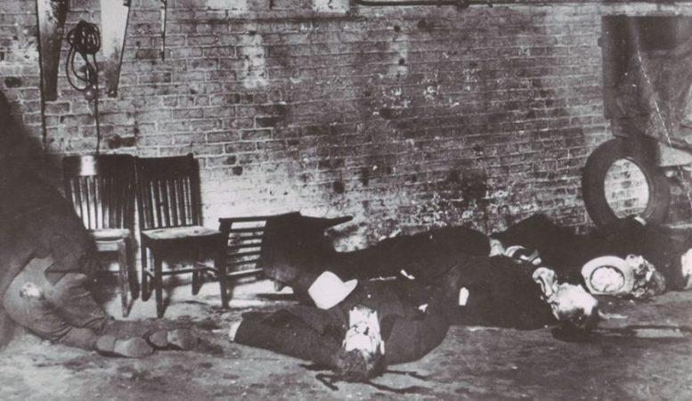 muro Massacre do Dia de São Valentim al capone