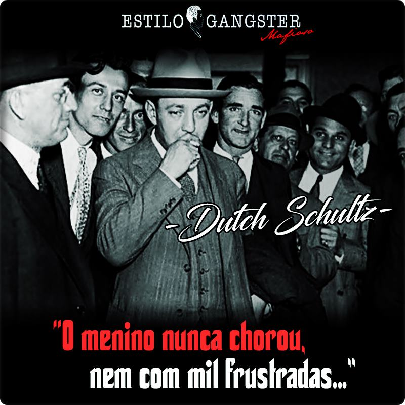 DUTCH SHULTZ GANGSTER
