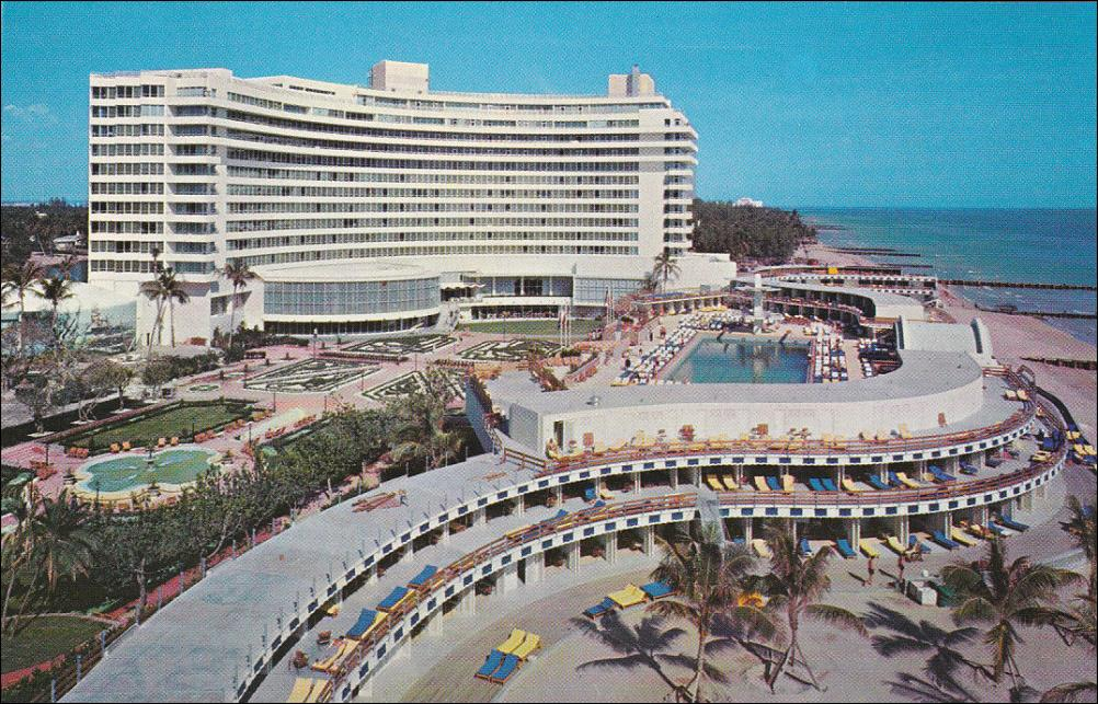 Fontainebleau Hotel Miami em 1950