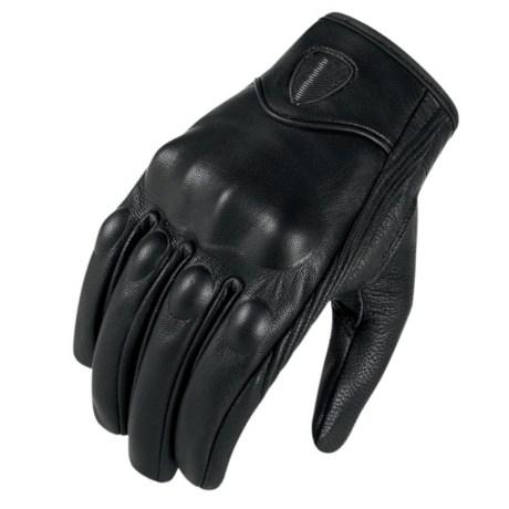 guantes cuero con proteccion