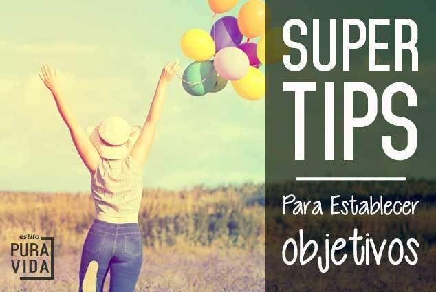 Tips para establecer objetivos que puedes lograr