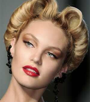 Peinados del Verano 2012: Ondas Retro