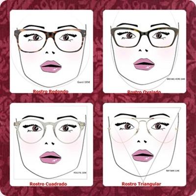 Qué gafas usar según tu tipo de rostro