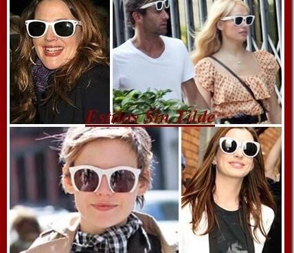 Gafas de Sol Blancas para Primavera-Verano 2013