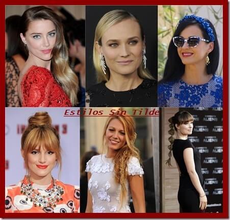 Tendencias peinados mujer Verano 2013
