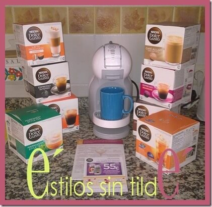 Nescafé Dolce Gusto Mini Me:Relaxing cup of café en mi casa