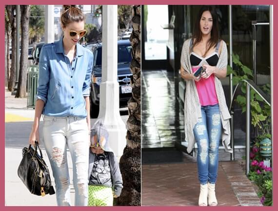 Tendencia Ripped Jeans