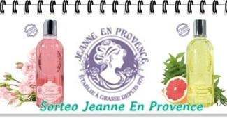 Sorteo Geles de Ducha de Jeanne En Provence