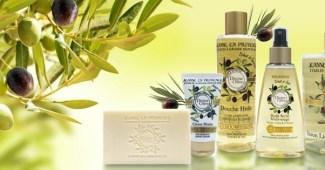 Sorteo de un Lote de 5 productos Jeanne en Provence Divine Olive