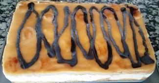 Receta de Tarta de nata y yema tostada