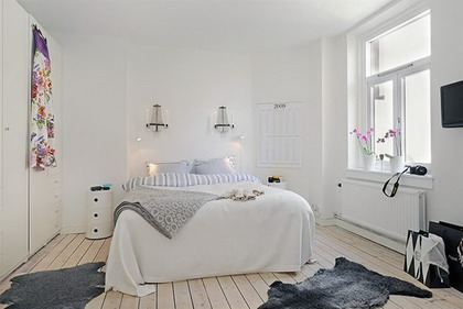 Visita un apartamento minimalista  Decoracin de