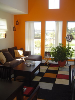 living room paint colors india ideas uk para un naranja - decoración de interiores y ...