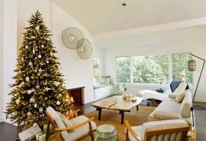 Decoracin navidea minimalista  Decoracin de Interiores