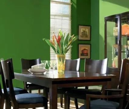 Decoracin en verde  Decoracin de Interiores y