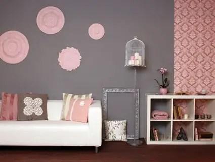 Pinta tus paredes de rosa  Decoracin de Interiores y