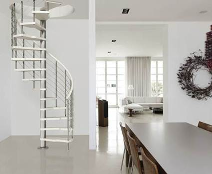 Diferentes tipos de escaleras  Decoracin de Interiores y