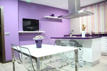 Cocinas violeta  Decoracin de Interiores y Exteriores