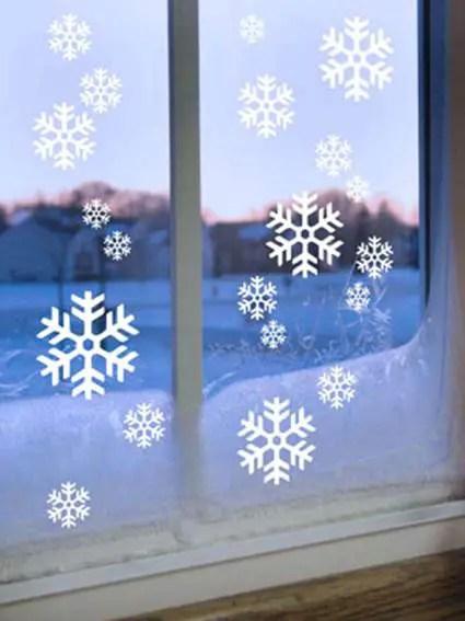 Vinilos decorativos para Navidad  Decoracin de