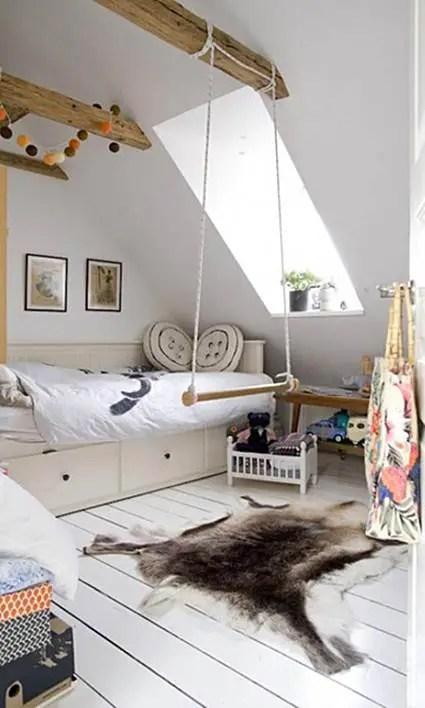 Habitaciones infantiles en blanco  Decoracin de