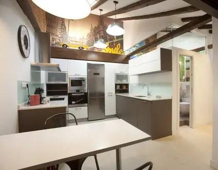 Un encantador mini apartamento de 34 m2  Decoracin de