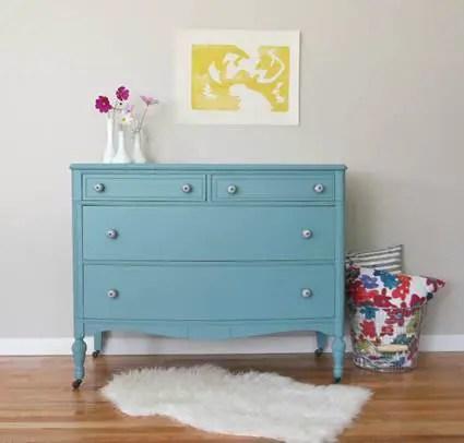 Muebles pintados con colores  Decoracin de Interiores y