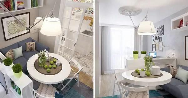 Vivir en 25 metros cuadrados es posible  Decoracin de Interiores y Exteriores  EstiloyDeco
