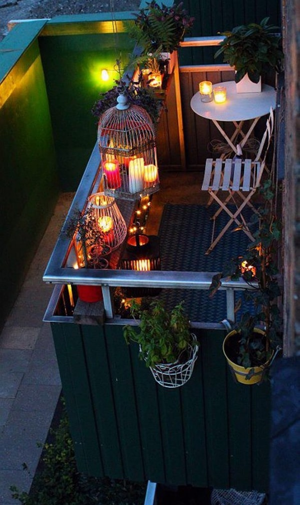 Ideas para decorar balcones pequeos Imgenes de balcones