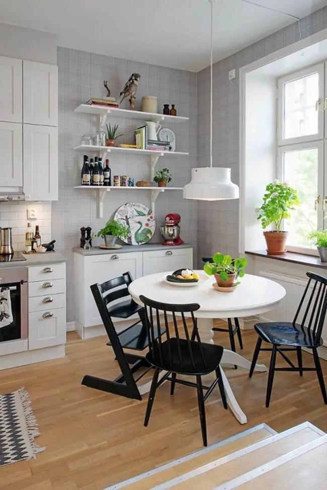 Cocina y comedor en uno  Decoracin de Interiores y
