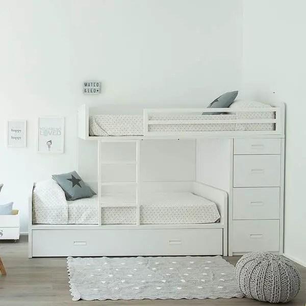 Decoracin nrdica infantil Dormitorios infantiles