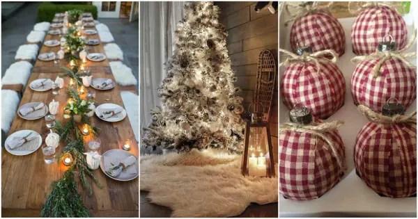 Navidad rstica Navidad  Decoracin de Interiores y