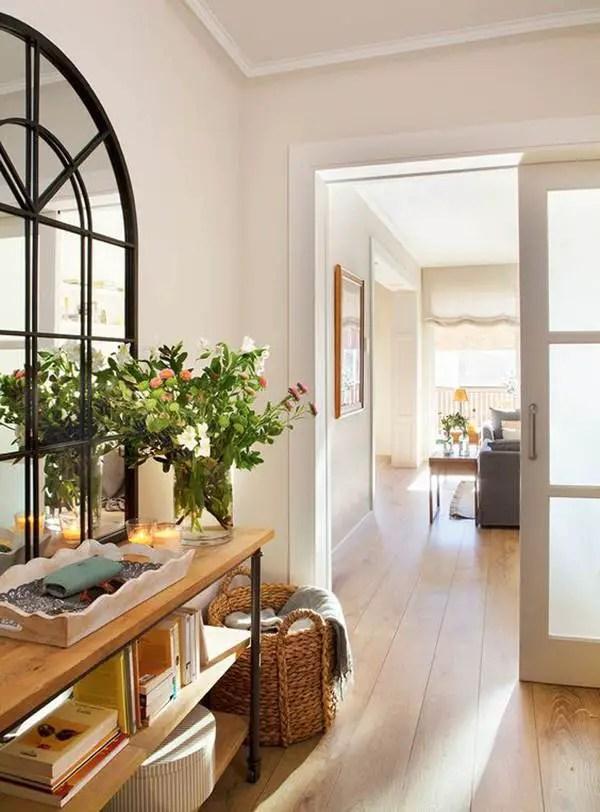7 ideas para decorar recibidores  Decoracin de