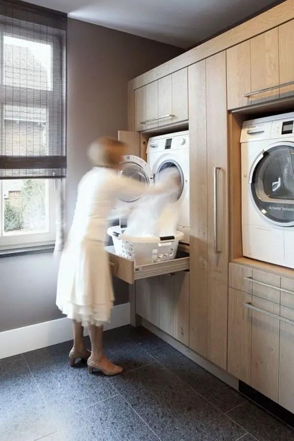 Ideas para lavaderos modernos Decoracin para cuartos de lavado