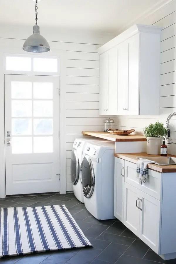 Ideas para lavaderos Decoracin de zonas de lavado y