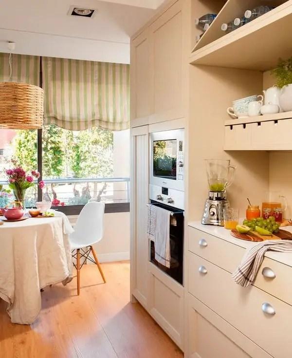Cocina comedor Ideas para decorar una cocina con zona de