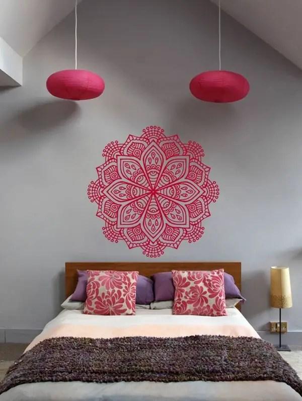 Ideas para decorar con mandalas Decoracin con mandalas