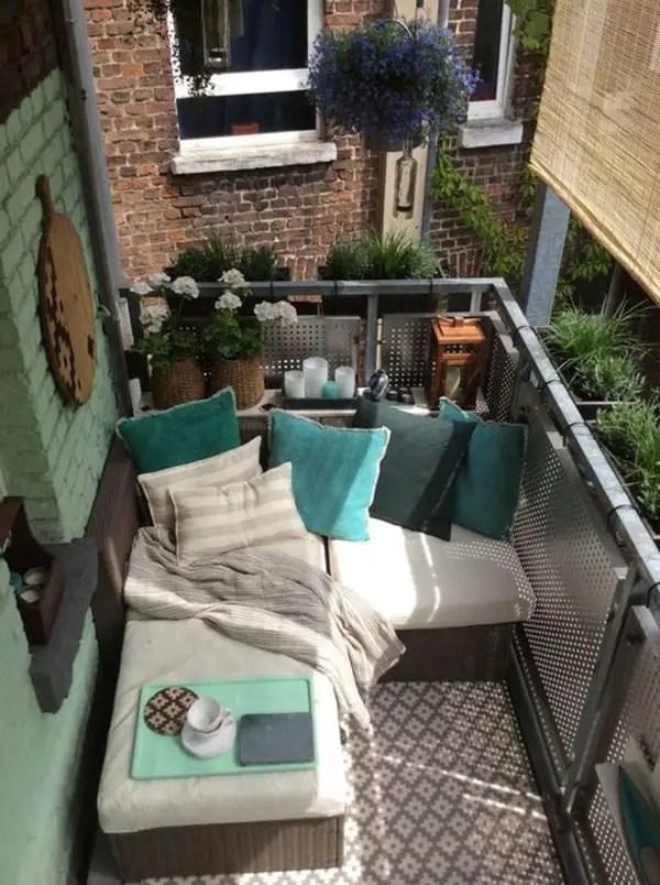 Ideas para balcones coloridos Decoracin exterior